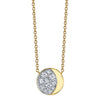 Under the Perfect Gibbous Moon Pendant - Marrow Fine