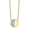 Under the Perfect Moon Pendant - Quarter Moon