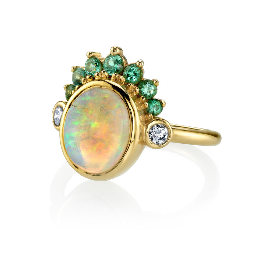 Opal Headdress Ring - Marrow Fine