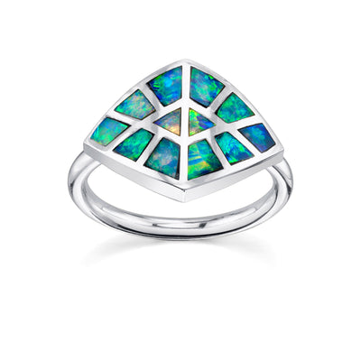 Opal Inlay Ring - Marrow Fine