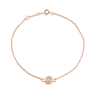 Rose Petal Chain Bracelet - Marrow Fine
