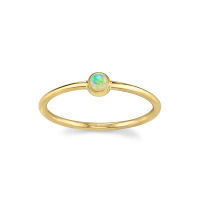 Opal Sweet Pea Stacking Ring - Marrow Fine