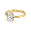 The Helene Oval Solitaire Engagement Ring - Marrow Fine