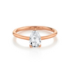 The Lola Pear Solitaire Engagement Ring - Marrow Fine