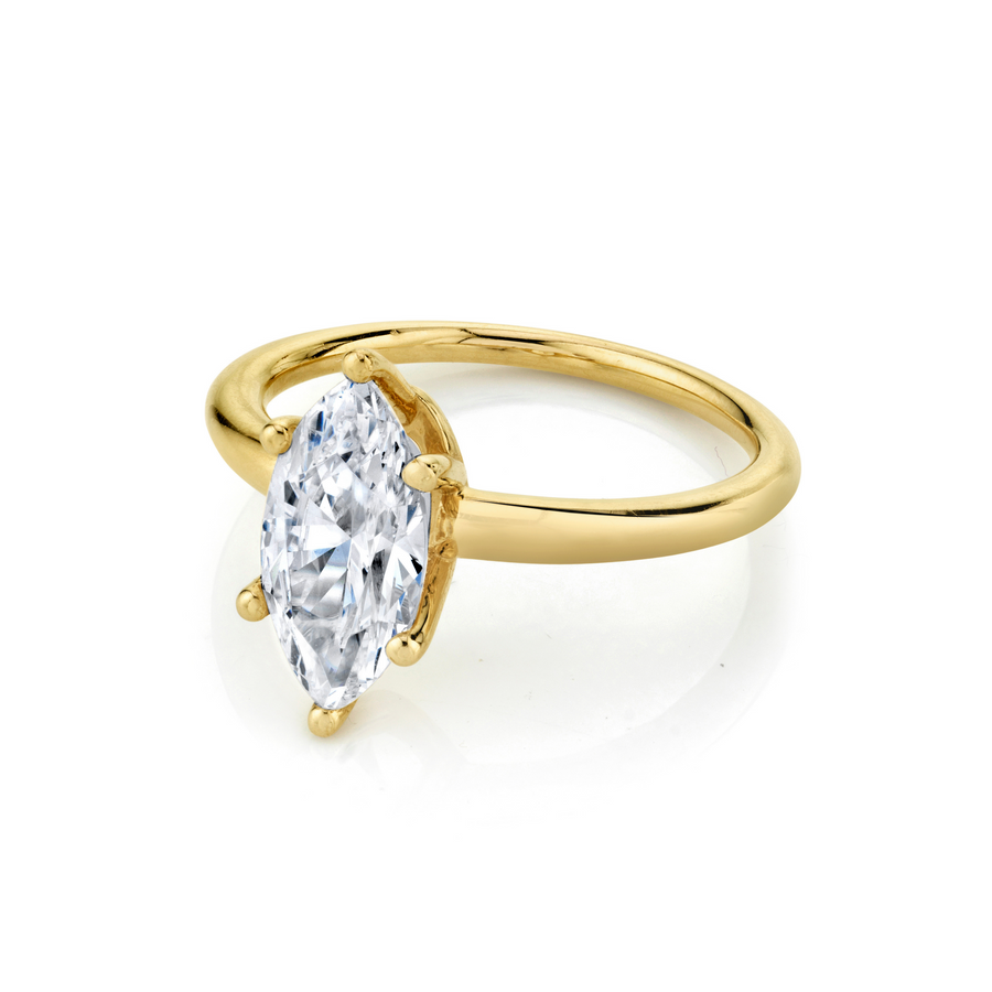 The Maeve Marquise Engagement Ring - Marrow Fine