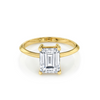 The Odessa Emerald Cut Engagement Ring - Marrow Fine