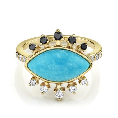 Protection Turquoise Ring - Marrow Fine