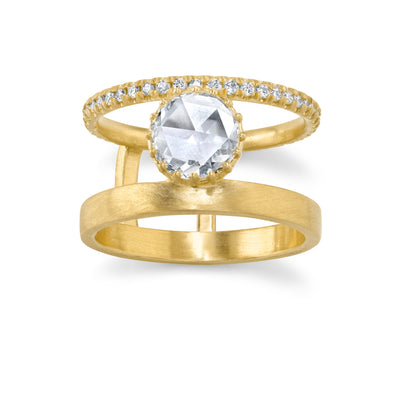 Winter's Rose Engagement Ring - Marrow Fine