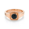 Black Onyx Boyfriend Signet Ring