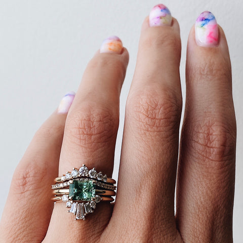 Tourmaline Solitaire Ring