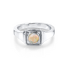 Opal Boyfriend Signet Ring - Marrow Fine