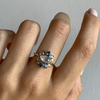 Opalescent Marquise Diamond Ring - Marrow Fine