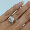 3.04ct Round Brilliant Solitaire Engagement Ring - Marrow Fine
