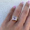 Trapezoid Morganite Ring - Marrow Fine