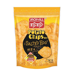 Jack 'n Jill Salted Egg Potato Chips 50g