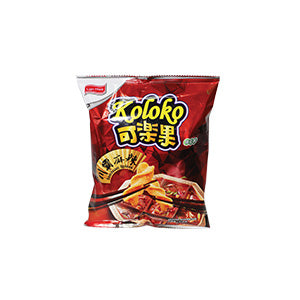 Koloko Pea Crackers Spicy/ Szechuan Spices 57g