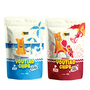 You Tiao Chips Soy Milk with Coconut / Spicy & Sweet 110g (2 for $9.90)