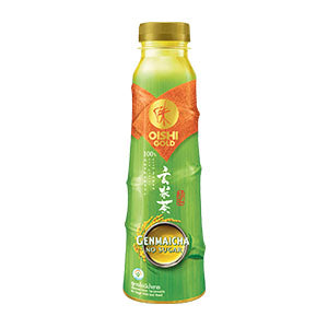 BUY 1 GET 1 FREE Oishi Gold Genmaicha No Sugar 400ml