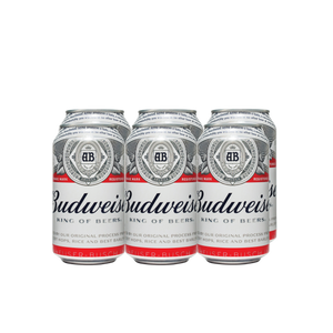 Budweiser 355ml x 6 cans