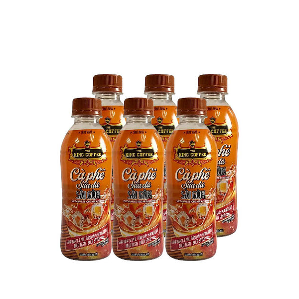 King Coffee Assorted Flavours 268ml x 6bot