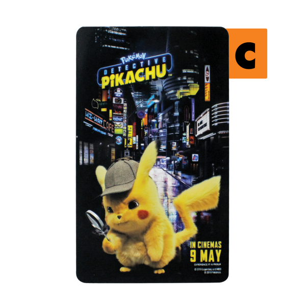 EZ Link Cards - Detective Pikachu (with no load value)