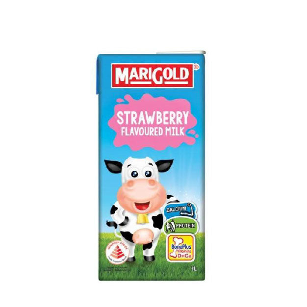 Punggol - Marigold UHT Assorted Flavoured Milk 1L