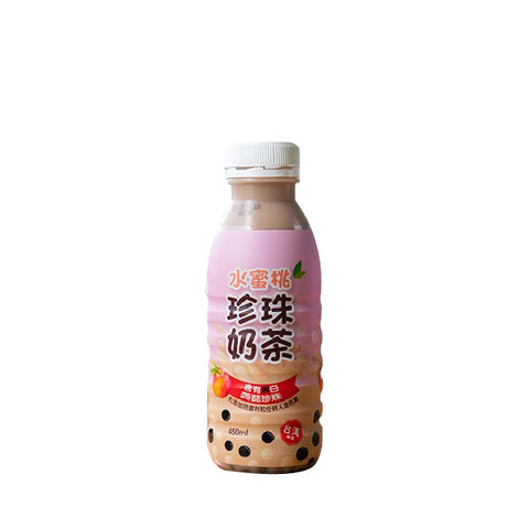 Punggol - Polar Peach Bubble Tea 450ml