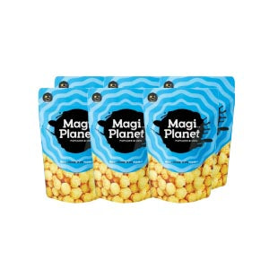 Bulk Sale - Magi Planet Popcorn Crystal Salted Caramel/ Corn Soup Popcorn 50g x 6 Packets