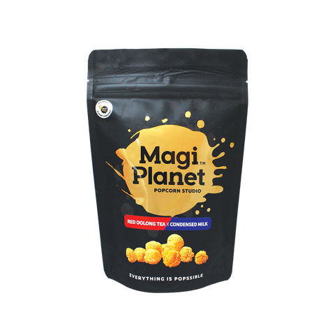 Magi Planet Red Oolong Tea x Condensed Milk Popcorn 50g