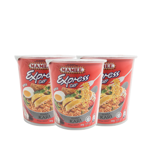 MAMEE Express Cup Noodles Curry Flavour 60g (3 for $3)