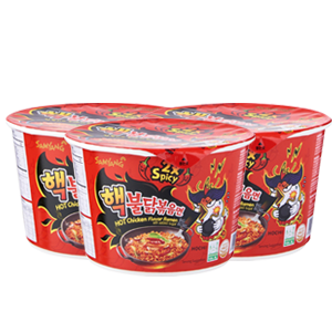 Samyang 2x Spicy Hot Chicken Flavor Ramen - 3 for $7.50 (105g/bowl)