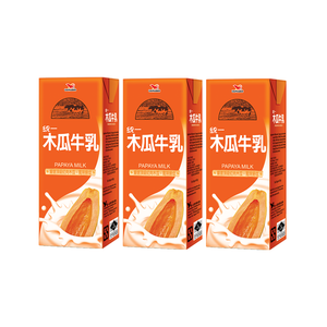 Uni-President Papaya Milk 250ml (3 for $3.60)