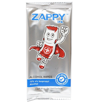 Zappy Boy Assorted Wipes 1s (100pcs for $24.90)