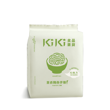 KiKi Old time Flavour Scallion Oil Noodles - Single Pack (of 5)