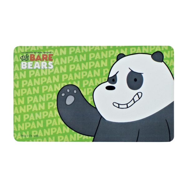 EZ Link Cards - We Bare Bears (with no load value)
