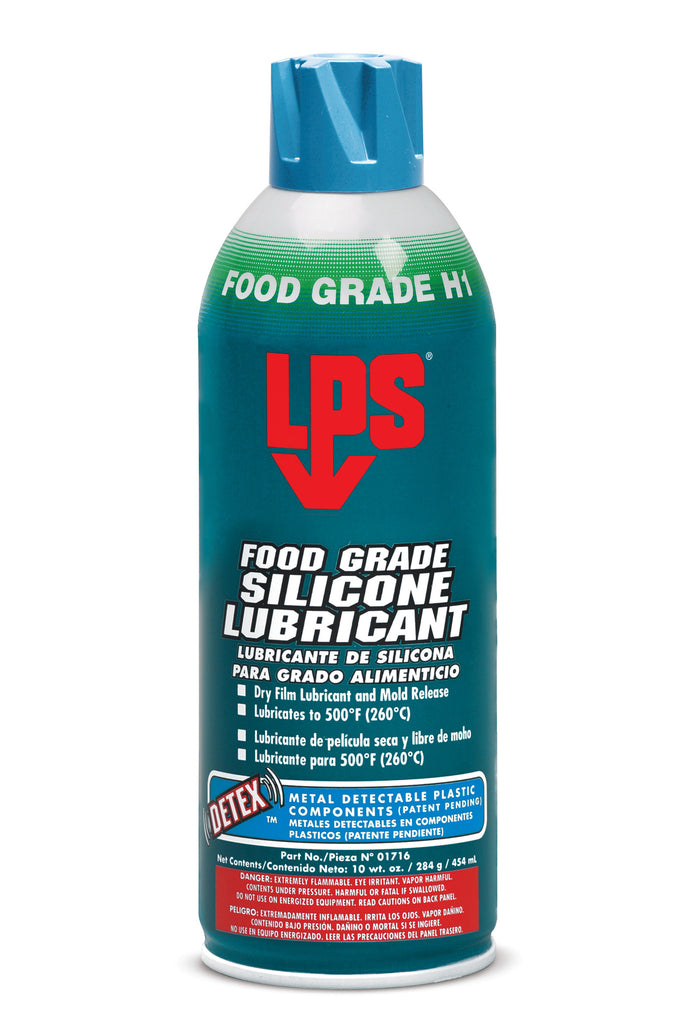 FOOD GRADE SILICONE LUBRICANT - Rompro Industrial Supply
