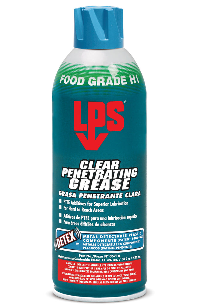 CLEAR PENETRATING GREASE - Rompro Industrial Supply