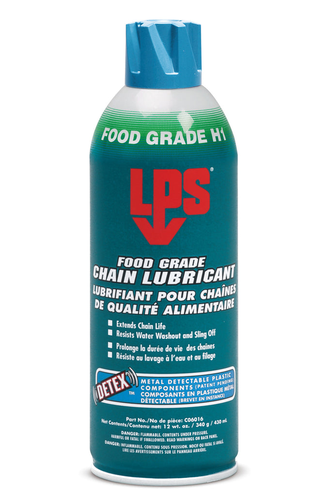 FOOD GRADE CHAIN LUBRICANT - Rompro Industrial Supply