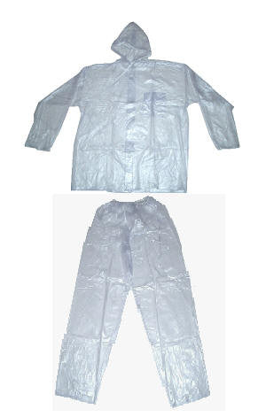 Hercules - Transparent Jacket and Pants - Rompro Industrial Supply