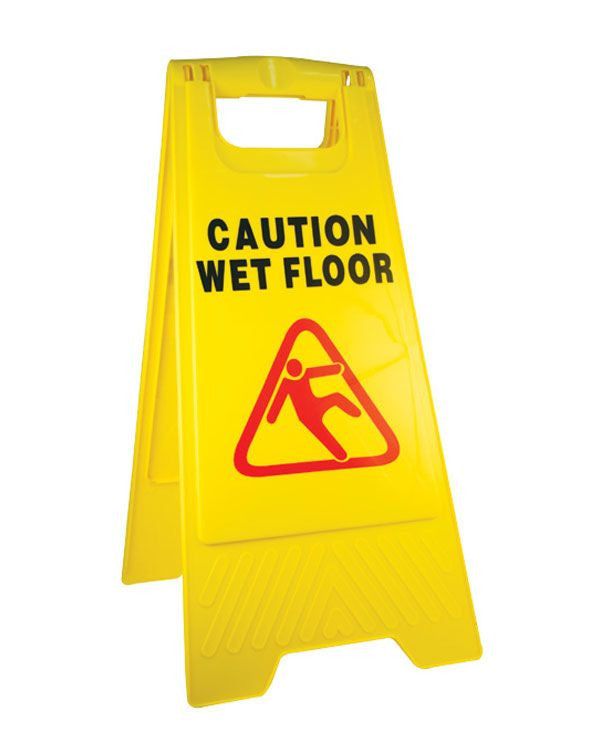 Floor Sign - Rompro Industrial Supply