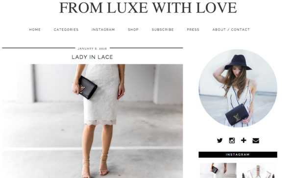 From Luxe With Love - Blogger HBSHE