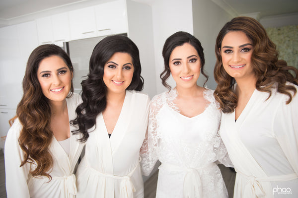 Homebodii Bridal Party Pre-wedding robes