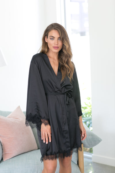 Donatella Robe - Black