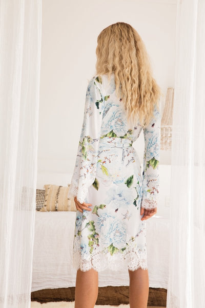 Amalia Lace Robe - Homebodii US