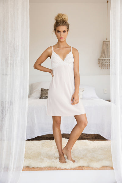 Mirabella Maternity Nightie - Blush - Homebodii US
