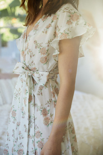 Marianne Floral Robe - Homebodii US