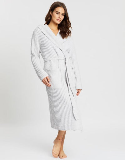 Ultimate Lux Robe - Dove Grey