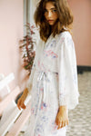 Annabelle Watercolour Robe - Homebodii US