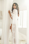 Helena Long Lace Robe