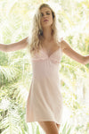 Astra Chemise - Blush - Homebodii US